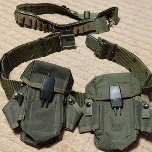 Military utilitarian equipment belt size large